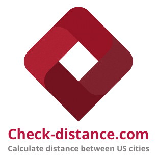 Distance between cities, mileage calculator